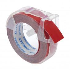 DYMO 3D Juostelė Mechaniniam Etikečių Spausdintuvui 9mm x 3m / raudona (S0898150)