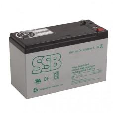 Akumuliatorius SSB SBL 7.2V-12
