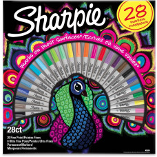 SHARPIE Rinkinys Peacock Fine 28 vnt. (2058158)