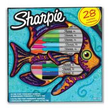 SHARPIE Rinkinys Fish Fine - 28 vnt. (2061125)