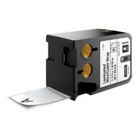 Dymo XTL Laminuotos etiketės laidams/kabeliams 38mm x 39mm / juodas ant baltos (1868708)