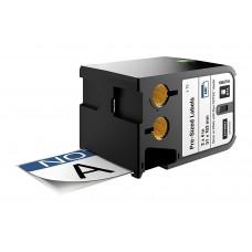 """Dymo XTL Etiketės saugai 51mm x 102mm / juodas ant baltos/Mėlyna antraštė/Užrašas """"NOTICE"""" (1868715)"""