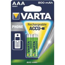 Akumuliatorius AAA R03 VARTA PHONE T398  telefonui DECT 1,2V 800mAh NiMH 2B