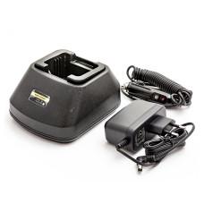 Adapteris 12V-230V baterijai Motorola PMNN4018, PMNN4021A, P040, P080, CT150, CT250, CT450