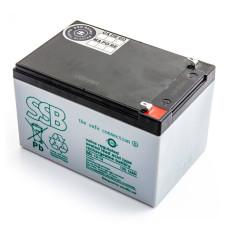 Akumuliatorius AGM SSB SBL 12V-12Ah  UPS APC, Ever, Fideltronik, Eaton Powerware