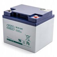 Akumuliatorius AGM SSB SBL 50-12HR 12V 40Ah