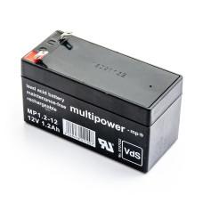Akumuliatorius MP1.2-12   ASPEL AsCard Mr. Silver / AsCard A4