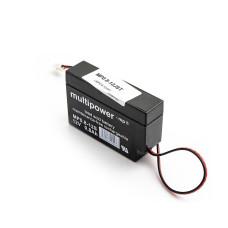 Akumuliatorius Multipower MP0.8-12JST 12V 0,8Ah AGM veikimui nereikia priežiūros