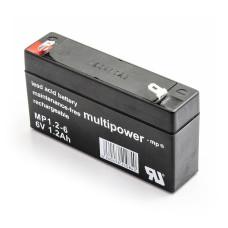 Akumuliatorius Multipower MP1.2-6 6V 1,2Ah VDs AGM be priežiūros