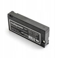 Akumuliatorius Multipower MP1250 12V 2.0Ah pakeičia LC-SD122PU, VW-VBF2E, EPP-130C, PV-50BP, VSB0016