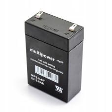 Akumuliatorius Multipower MP2.8-6P 6V 2,8Ah AGM be priežiūros