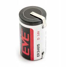1 x Baterija ličio EVE ER34615CNR 3.6V Li-SOCL2 D, LS33600, SL-780, TL-2300, TL-4930, XL-200F