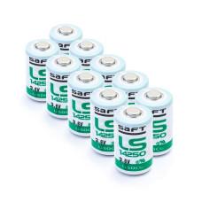 10 x Baterija ličio Saft LS14250 3.6V Li-SoCL2 1/2AA, SL-350, SL-750, SB-AA02, TL-2150, TL-4902, XL-050F