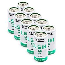 10 x Baterija ličio Saft LSH14 3,6V Li-SOCL2 - TLH-5920, SW-C01/FF, ER26500M, SL-770, SL-2770