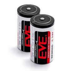 2 x Baterija ličio EVE ER26500 3.6V Li-SOCL2 C, LS26500, SL-770, TL-2200, TL-4920, XL-140F