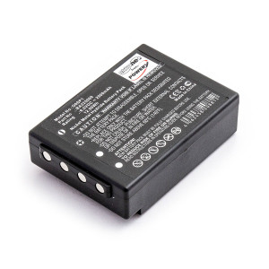 Baterija  HBC Radiomatic Fub05AA 6V 2000mAh BA205000, BA205030, BA206000, BA206030, BA225000, BA225030