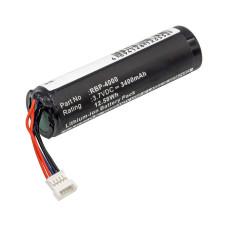 Baterija skeneriui Gryphon 128000894 3,7V 3400mAh Li-Ion  Gryphon GM4100, RBP-GM40