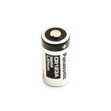 1 x Baterija ličio Panasonic 3V CR123A, DL123A, EL123A, CR17345, CR17350, K123LA