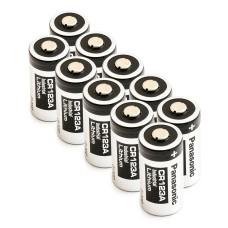 10 x Baterija ličio Panasonic 3V CR123A, DL123A, EL123A, CR17345, CR17350, K123LA