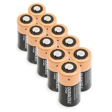 10 x Ličio Baterija Duracell 3V DL123A, K123LA, CR123, CR123A, EL123AP, EL123, CR17345