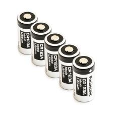 5 x Baterija ličio Panasonic 3V CR123A, DL123A, EL123A, CR17345, CR17350, K123LA