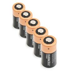 5 x Ličio Baterija Duracell 3V DL123A, K123LA, CR123, CR123A, EL123AP, EL123, CR17345