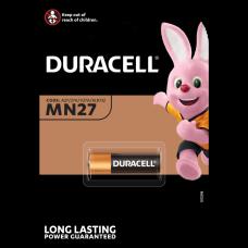 Baterija DURACEL MN27 automobilių nuotolinio valdymo pultams, jutikliams ir belaidžiams skambučiams