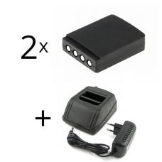 - adapteris  HBC Radiomatic 12-230V+ 2 baterija FUB9NM BA209000, BA209001, BA209060, BA209061, FUA28