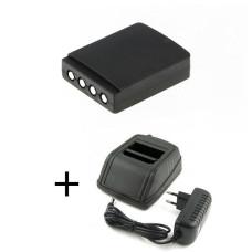 - adapteris  HBC Radiomatic 12-230V + baterija FUB9NM BA209000, BA209001, BA209060, BA209061, FUA28