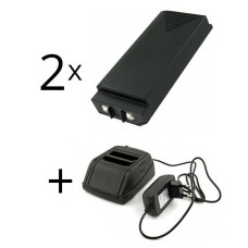 Adapteris  Hiab XS Drive 12V-230V + 2 baterija H3786692, H3796692, AX-HI6692, AMH0627, HIA7220
