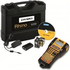 DYMO Rhino 5200 Etikečių Spausdintuvas (plastikiniame lagamine) + 1 vnt. Rhino Juostelė (S0841430)