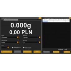 """Automatinės svėrimo ir ženklinimo sistemos juvelyrams """"GoldenLabel"""" programinė įranga"""