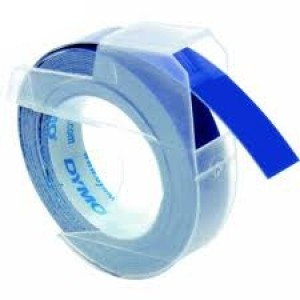 DYMO 3D Juostelė Mechaniniam Etikečių Spausdintuvui 9mm x 3m / mėlyna (S0898140)
