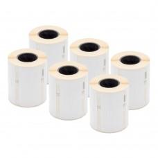 DYMO Polipropileninės Etiketės Juvelyrikai 10 x 50mm / Rinkinys (11351 / S0722360) - 6 vnt.